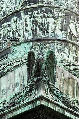 Photograph - Details From The Column At Vendome - 1 by Hany J