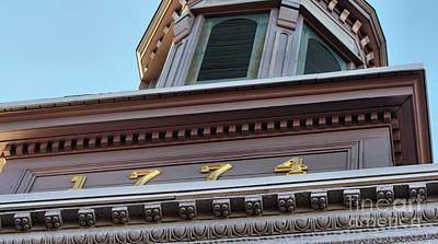 Photograph - Details Of The Friendship Firehouse Old Town Alexandria V A  by John S