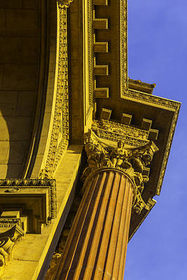 Rotunda Photograph - Details Palace Of Fine Arts by Garry Gay