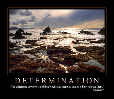 Determination 1 Art Print by Dave Lee