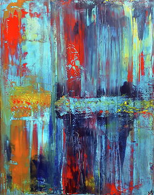 Determination Art Print by Tanya Lozano Abstract Expressionism
