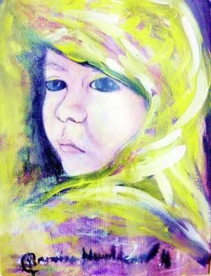 Painting - Determined by Wanvisa Klawklean