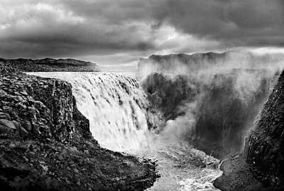 Dettifoss Waterall, Iceland. Art Print by James Clancy