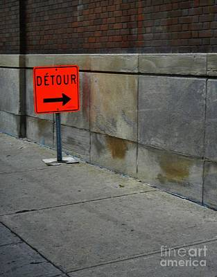 Photograph - Detour  by Reb Frost