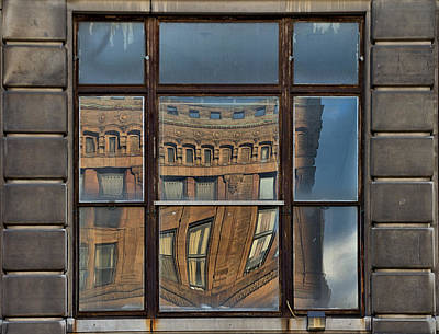 Window Photograph - Detroit 2 by Steven Richman