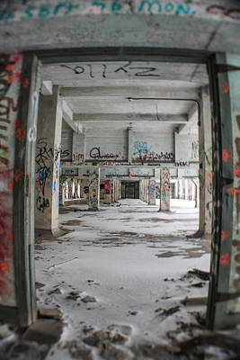 Detroit Abandoned Buildings Photograph - Detroit Abandoned 1 by John McGraw
