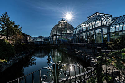 Photograph - Detroit Belle Isle Conservatory by Steven Dunn