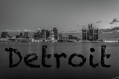 Detroit City  Art Print