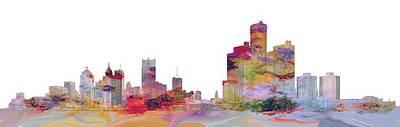 Photograph - Detroit Colors by Bonfire Photography