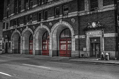 Photograph - Detroit Fire Department Headquarters  by Pravin  Sitaraman
