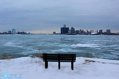 Photograph - Detroit Freeze  by Michael Rucker