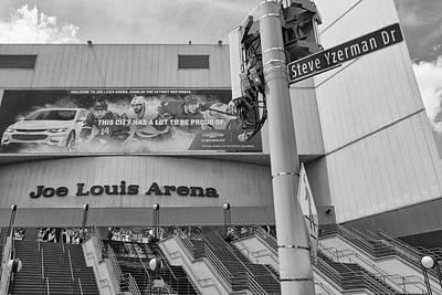 Photograph - Detroit Joe Louis Arena 5 by John McGraw