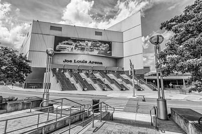 Photograph - Detroit Joe Louis Arena Front  by John McGraw