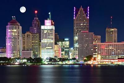 Significance Photograph - Detroit Night by Frozen in Time Fine Art Photography