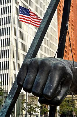 Photograph - Detroit Pride by Frozen in Time Fine Art Photography