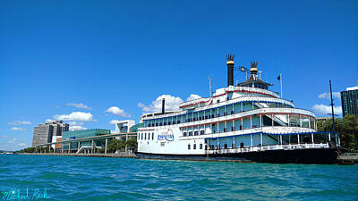Photograph - Detroit Princess Riverboat by Michael Rucker