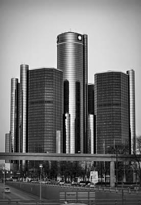 Detroit Renaissance Center General Motors Gm World Headquarters Original by Ryan Dean