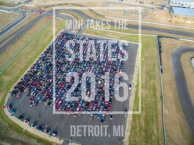 Photograph - Detroit Rise/shine 1 W/text by That MINI Show