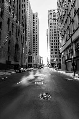 Photograph - Detroit Road To Somewhere  by John McGraw