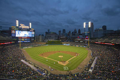 Photograph - Detroit Tigers Comerica Park 2 by David Haskett