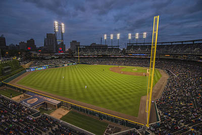 Photograph - Detroit Tigers Comerica Park 4993 by David Haskett II