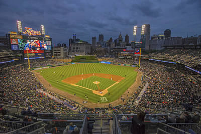 Photograph - Detroit Tigers Comerica Park 5047 by David Haskett II