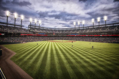 Photograph - Detroit Tigers Comerica Park Center Field 4930 by David Haskett