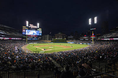 Photograph - Detroit Tigers Comerica Park Lower Level 1 by David Haskett