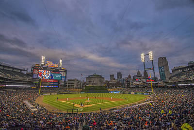 Photograph - Detroit Tigers Comerica Park Lower Level  4944 by David Haskett