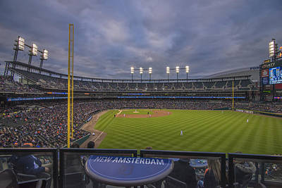 Photograph - Detroit Tigers Comerica Park Right Field View 1 by David Haskett