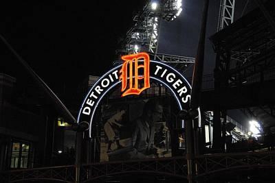 Detroit Tigers Art Print