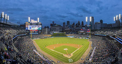 Photograph - Detroit Tigers Panoramic 10 by David Haskett II