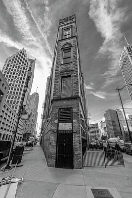 Photograph - Detroits Flatiron Building  by John McGraw