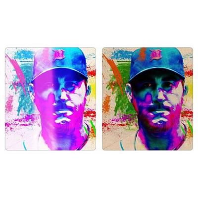 Baseball Wall Art - Photograph - #detroittigers #tigers #justinverlander by David Haskett II