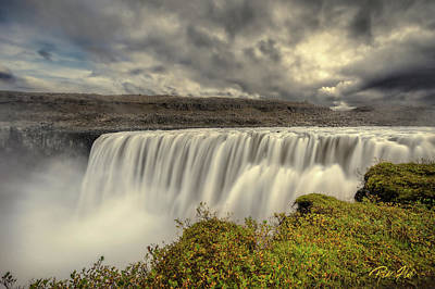 Photograph - Dettifoss Before The Storm by Rikk Flohr