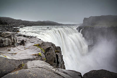 Photograph - Dettifoss by Brad Grove
