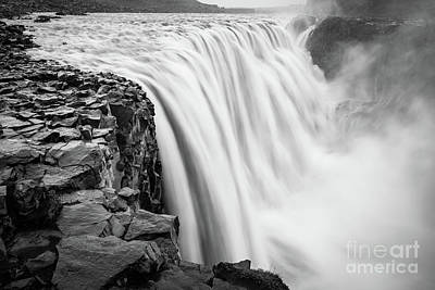 Northeastern Photograph - Dettifoss by Inge Johnsson
