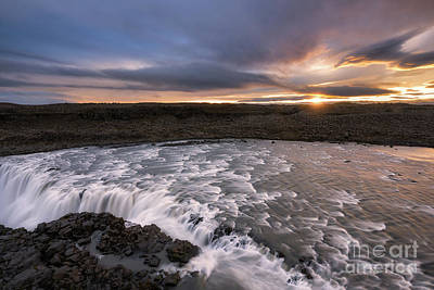 Photograph - Dettifoss Sunrise  by Michael Ver Sprill