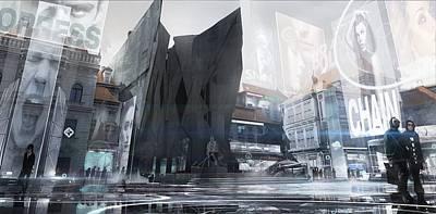 Landscape Digital Art - Deus Ex Mankind Divided by Maye Loeser