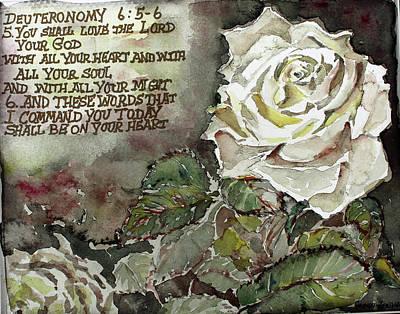 Deuteronomy 6 Art Print