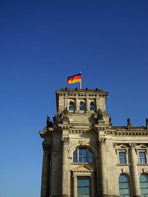 Deutscher Bundestag II Art Print by Flavia Westerwelle
