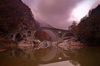 Devil's Bridge Art Print by Evgeni Dinev