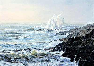 Painting - Devil's Churn by Bill Hudson