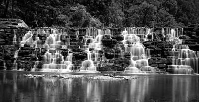 Devils Den Photograph - Devil's Den Cascade by James Barber