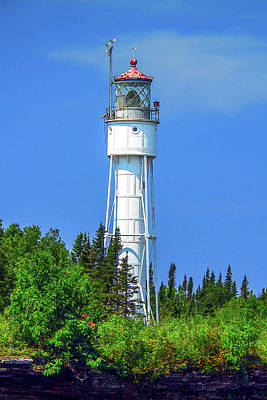 Photograph - Devils Island Light by Gordon Engebretson