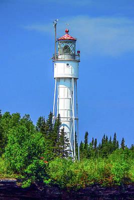 Photograph - Devils Island Light by Gordon Engebretson