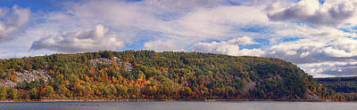Photograph - Devil's Lake Autumn Text. by Theo O'Connor