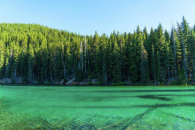 Photograph - Devil's Lake Deschutes National Forest Oregon by Lawrence S Richardson Jr