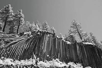 Devil's Postpile - Frozen Columns Of Lava Art Print by Christine Till