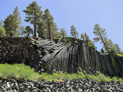 Random Shape Photograph - Devil's Postpile - Talk About Natural Wonders by Christine Till